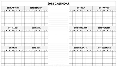 quarterly calendar 2018 template printable quarterly calendar 2018 2018 calendar whole year