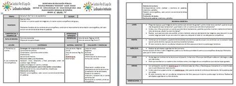 planeaciones sep primaria 2016 gratis pdf planeaciones del primer grado del ciclo escolar 2015