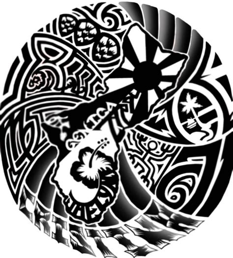 chamorro tribal tattoo best 25 guam ideas on
