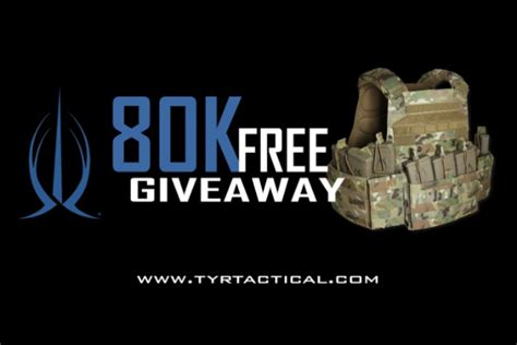 Tactical Giveaway - tyr tactical 80k giveaway recoil
