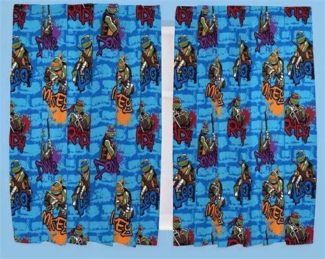ninja turtle curtains teenage mutant ninja turtles urban character curtains 66