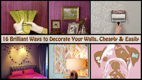 Diy Scoop Page 2 The Best Diy Ways To Decorate Your Walls