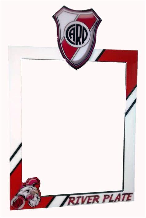 imagenes en blanco y rojo con frases marco para espejo equipo deportivo river plate dise 241 o