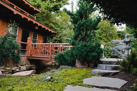 asian tea house and garden with fountain and stone walkway hgtv ultimate outdoor awards 2016