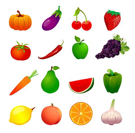 printable fruit and vegetable shapes download 50 free vector fruits vegetables icons