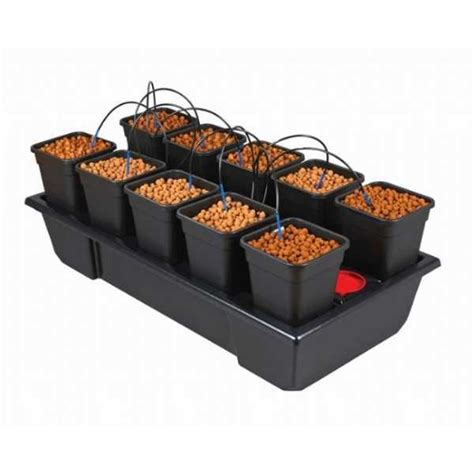 vasi idroponica wilma sistema idroponico 10 vasi coltivazione idroponica