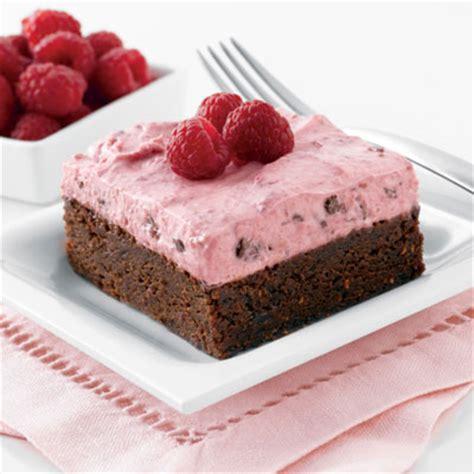 chocolate raspberry brownies chocolate raspberry brownie mousse delight nestl 201 174