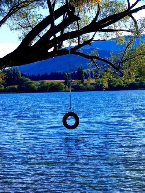 swings over the ocean love the water and tire swings favorite places spaces