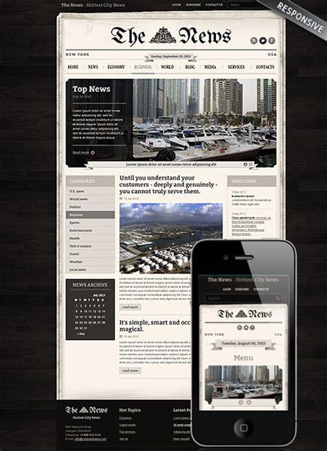 Newspaper Website Template by Newspaper Theme Best Website Templates