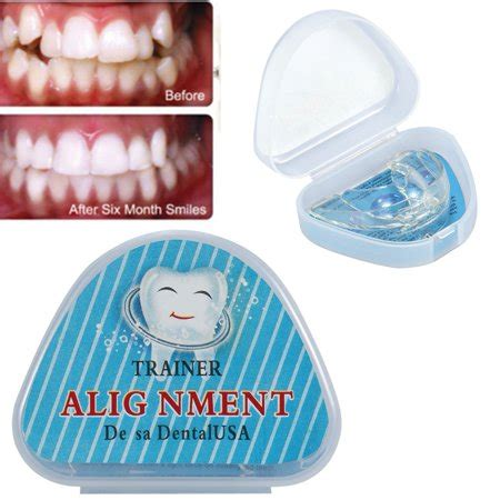 straighten teeth tray retainer crowded irregular teeth