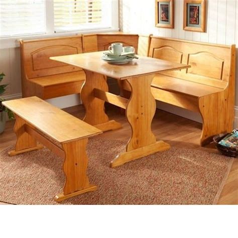 l shaped kitchen tables breakfast nook kitchen dining set corner l shape booth wood dinette table bench ebay