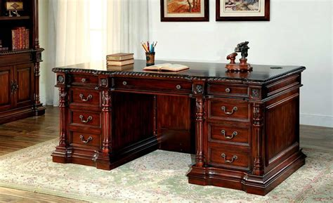 traditional cherry office desk fa252 desks