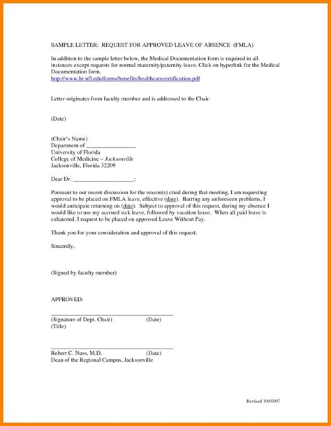 Payment Approval Request Letter vacation without pay letter sle sportstle