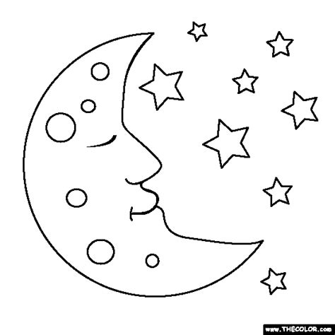 moon coloring pages moon coloring page gallery glass projects