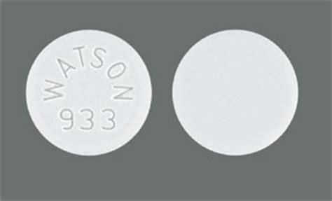 watson 933 pill images white