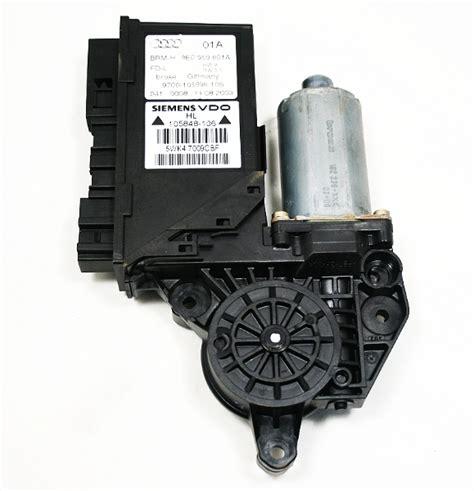 Corner L Audi A4 Lh 1 lh rear window motor 02 08 audi a4 s4 rs4 b6 b7 8e0 959
