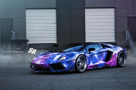 matte galaxy lamborghini tuningcars galaxy themed aventador returns with adv1 wheels