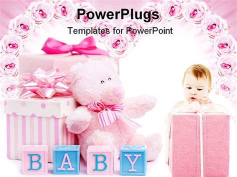 Free Powerpoint Templates Baby Shower Baby Shower Powerpoint Templates