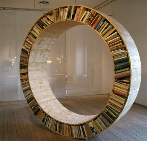 circle bookcase my style