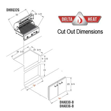32 quot outdoor gas grill head