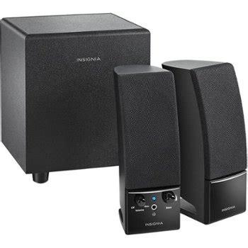 insignia  speaker system  piece black