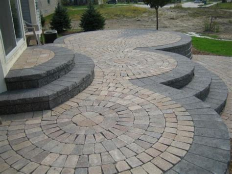 Patio Designs Curved 1000 Images About Garden Ideas On