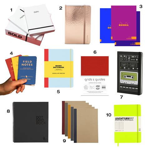 design milk notebook roundup 10 awesome notebooks design milk