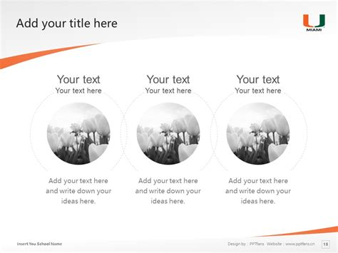 of miami powerpoint template of miami powerpoint template 迈阿密大学