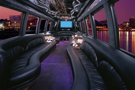 Inside A Limo by 52 Limousine Travel Tips On The Town 52 Days