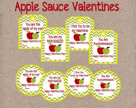 valentines day etsy applesauce s day cards and by lilacsandcharcoal