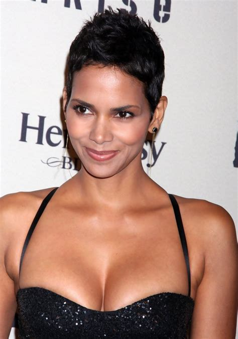 short bobs with body halle berry pixie short hairstyles lookbook stylebistro