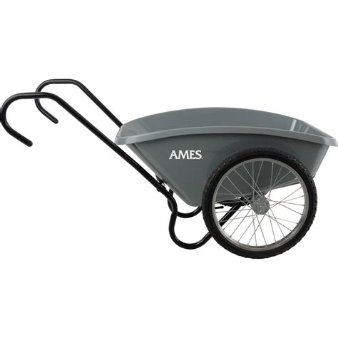 shop ames 5 cu ft poly yard cart at lowes