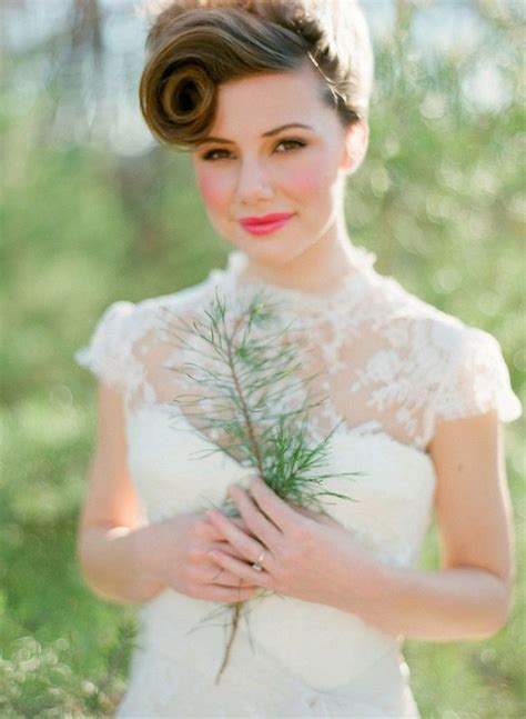 bob hairstyles dress up 30 ways to style short hair for your wedding bridal musings
