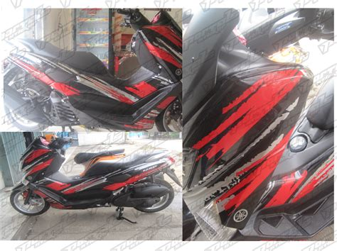 Yamaha Vega Sticker Design by Portals Sticker Cutting Sticker Yamaha N Max Jakarta Selatan