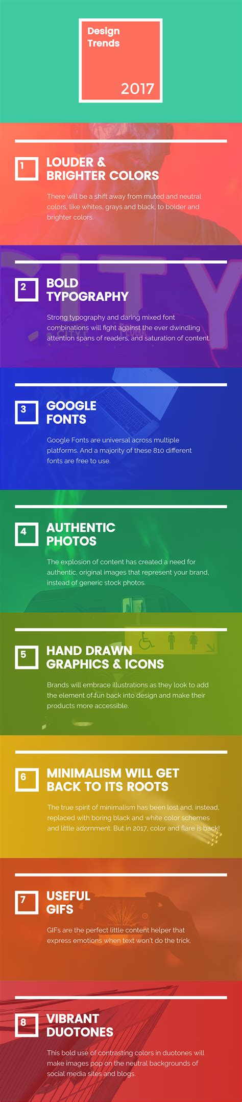2017 graphic design trends codehints 8 new graphic design trends that will take