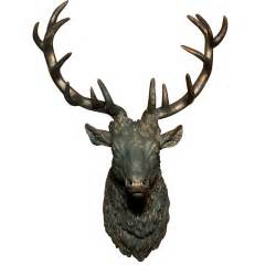 alpenhome gypsum stags head wall decor amp reviews wayfair uk