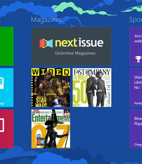 7 Of My Favorite Magazines by Next Issue Now Available In The Windows Store Windows
