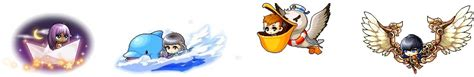 updated cash shop specials 7 20 7 26 maplestory - Origami Boat Mount