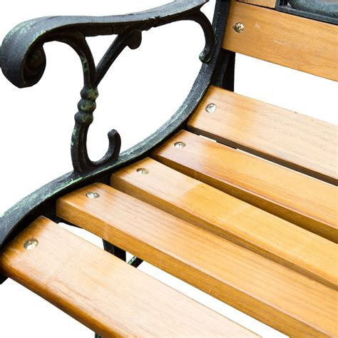 name a place where you see benches name a place where you see benches outdoor 50 quot patio porch deck hardwood cast iron