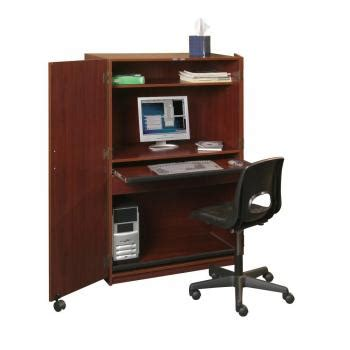 Lockable Computer Desk Locking Computer Hutch Desk Learner Supply