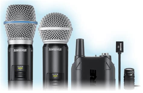 Microphone Mic Wireless Shure Pgx 242 Koper glx d advanced digital wireless shure americas