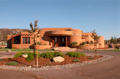 adobe home in new mexico southwestern exterior hacienda aden southwestern exterior san diego by