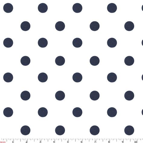 polkadot navy fabrics premium fabric by the yard at carousel designs