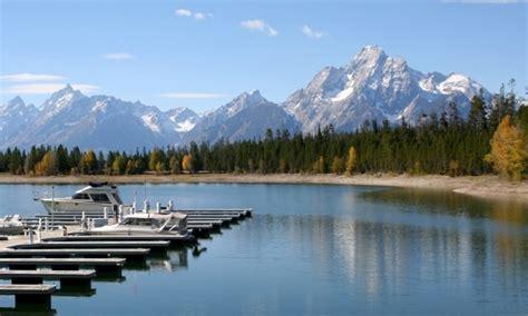 boat tour jackson lake grand teton national park boating boat rentals marinas