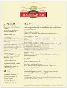 british pub menu page 1