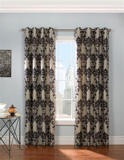 discount grommet curtains bristol grommet black 54 x 95 70927 109 401 95 canada