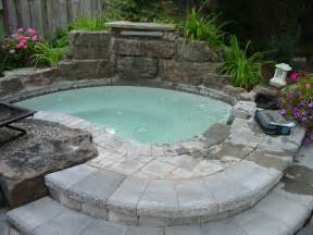 backyard tub 48 awesome garden tub designs digsdigs