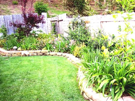small sloping garden ideas photos design the sle