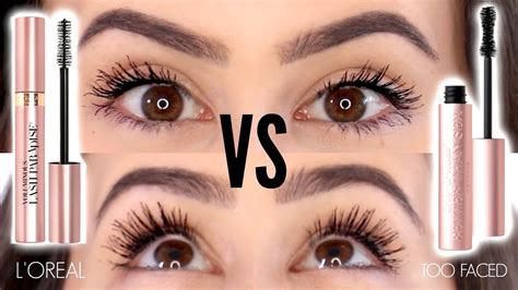 Mascara L Oreal Lash Paradise faced better than mascara dupes l oreal voluminous