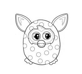 furby coloring pages download print free